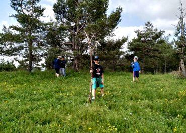Obisk gozdne igralnice v enoti Pudgurček