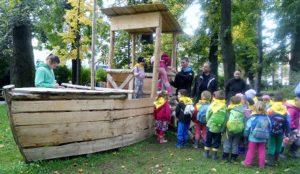 Obisk parka SGLŠ Postojna - Ribice Zajčki in Raziskovalci 02