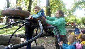 Obisk parka SGLŠ Postojna - Ribice Zajčki in Raziskovalci 08
