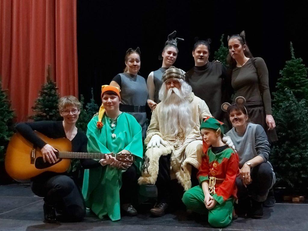 Didel didel daja – predstava za otroke zaposlenih v Vrtcu Postojna
